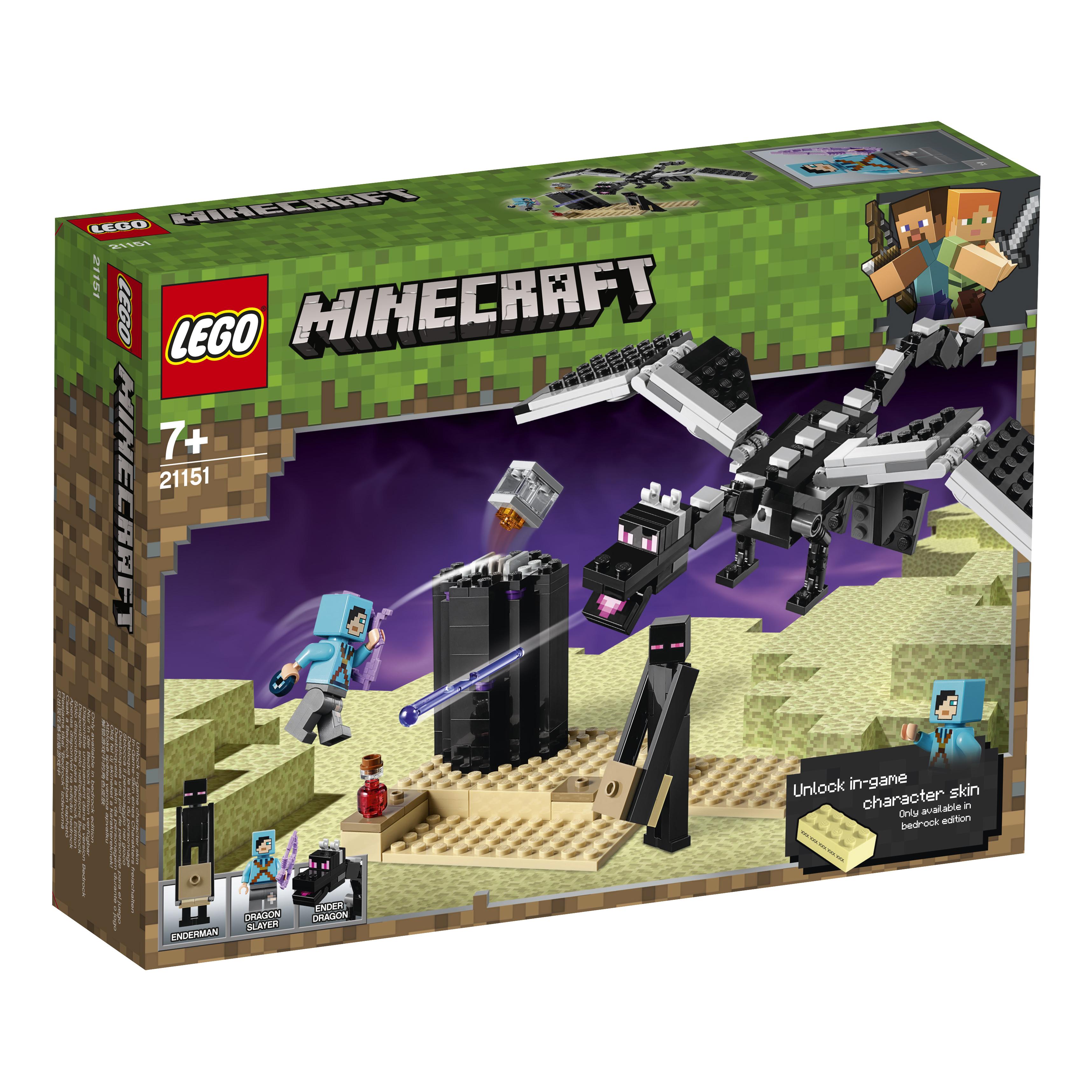 Фото - Конструктор LEGO Minecraft 21151 Последняя битва моисей последняя битва пророка
