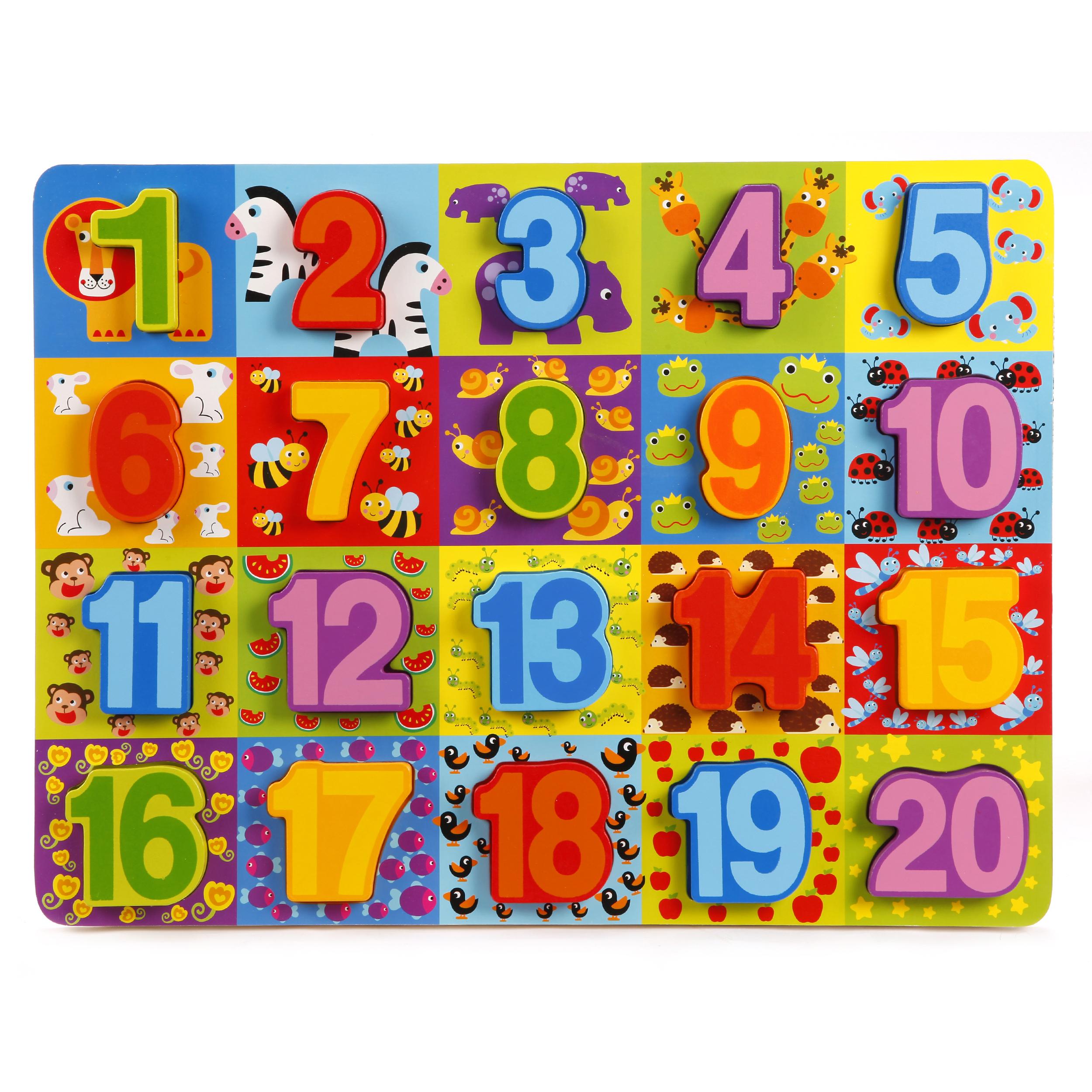 вкладыши Mapacha Цифры вкладыш mapacha изучаем цифры 76686