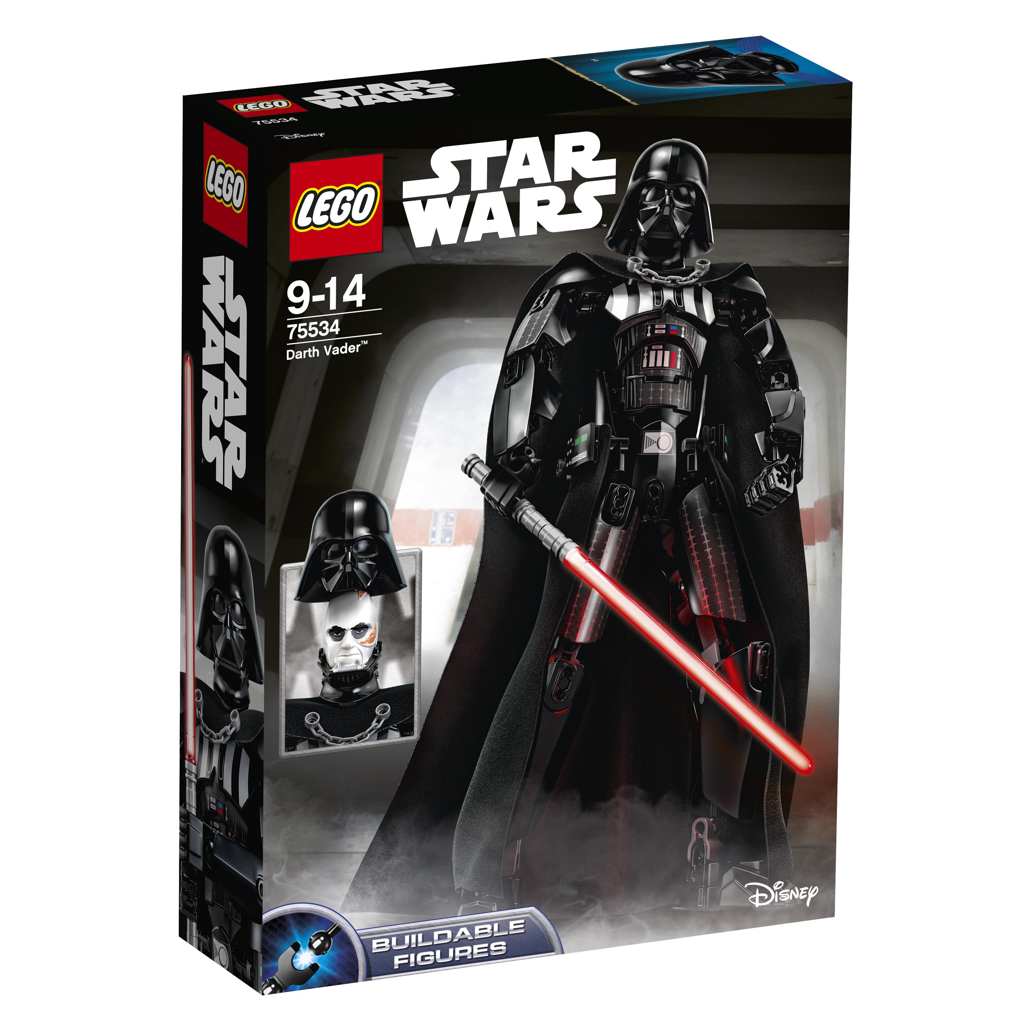 Star Wars LEGO Constraction Star Wars 75534 Дарт Вейдер