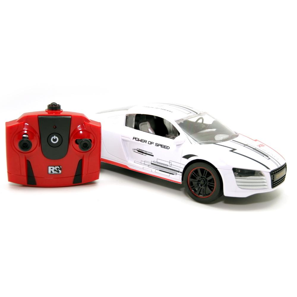 Машина на радиоуправлении BALBI RCS-1601 WA белая 1:16 автомобиль balbi спорткар 1 16 белый от 5 лет пластик металл rcs 1601 wa