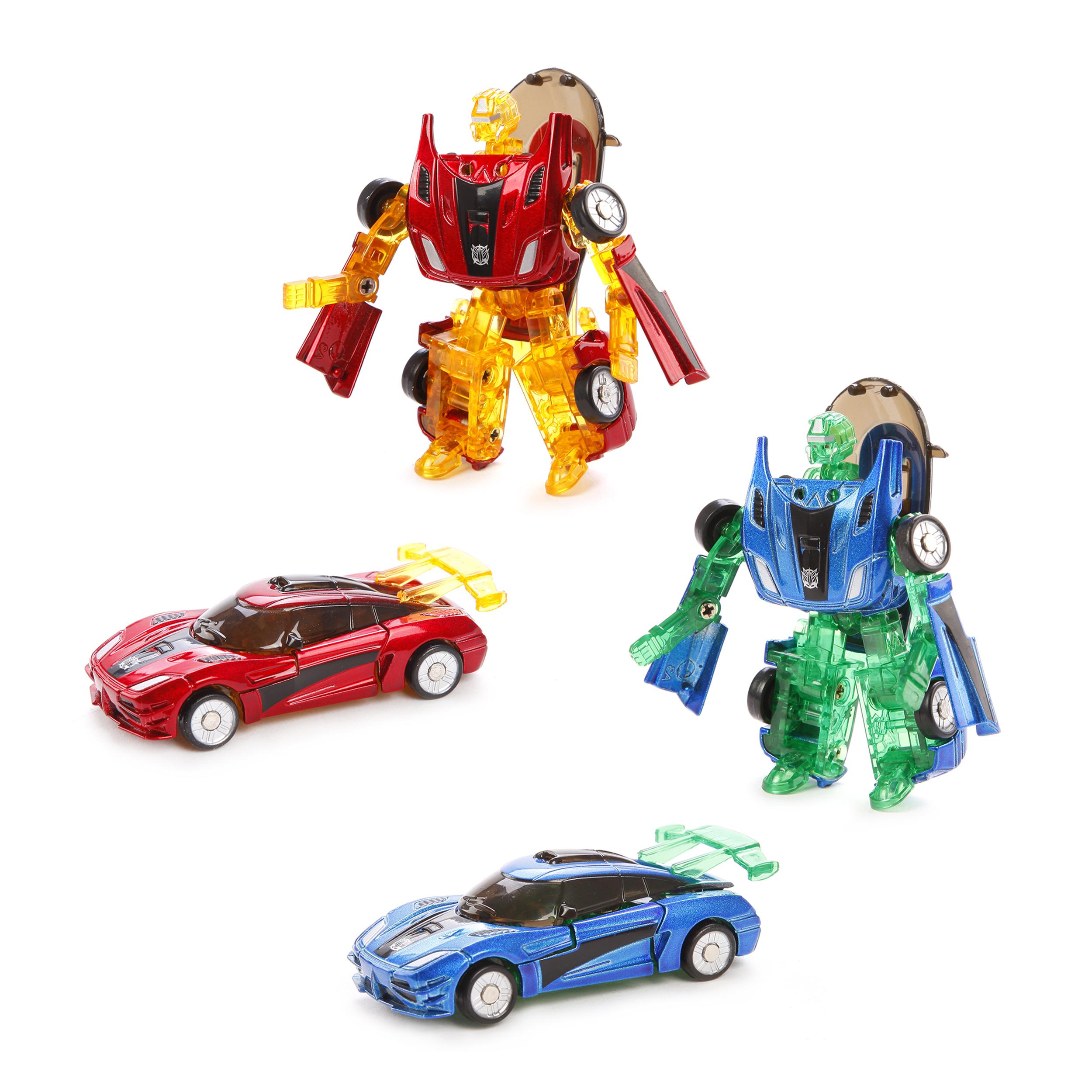 Машинки и мотоциклы Shantou Gepai Робот-трансформер Пламенный мотор «Машина-Космобот» в асс. машина трансформер пламенный мотор робот машина космобот 870280