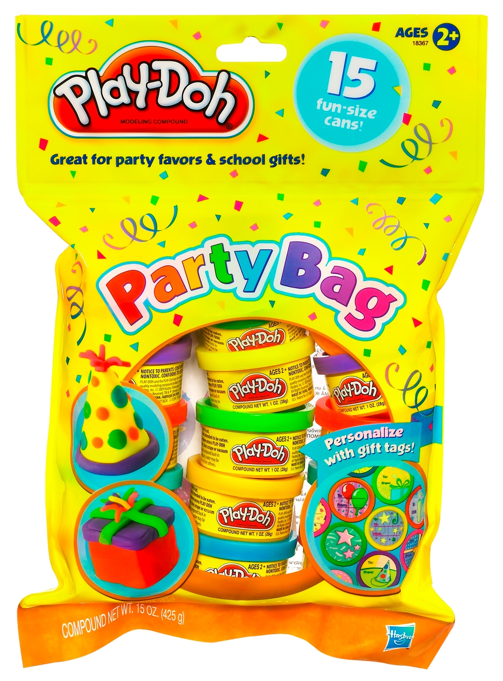 Набор пластилина Hasbro Для праздника 15 баночки hasbro набор пластилина hasbro play doh цвета и формы