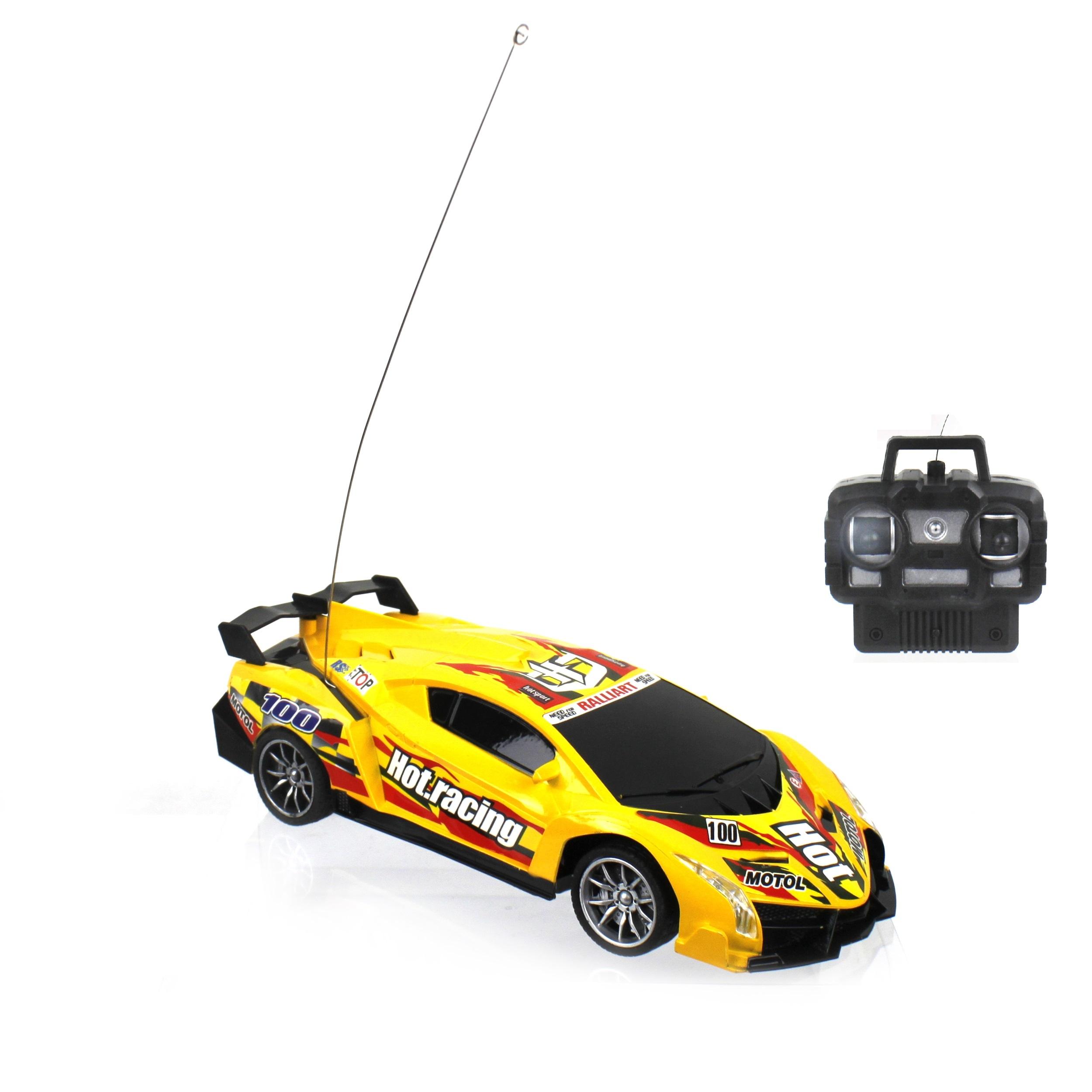 Радиоуправляемая машинка 1toy Спортавто желтый