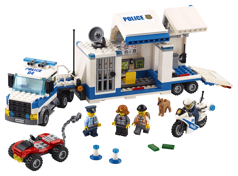 цены на Конструктор LEGO City 60139 Мобильный командный центр  в интернет-магазинах