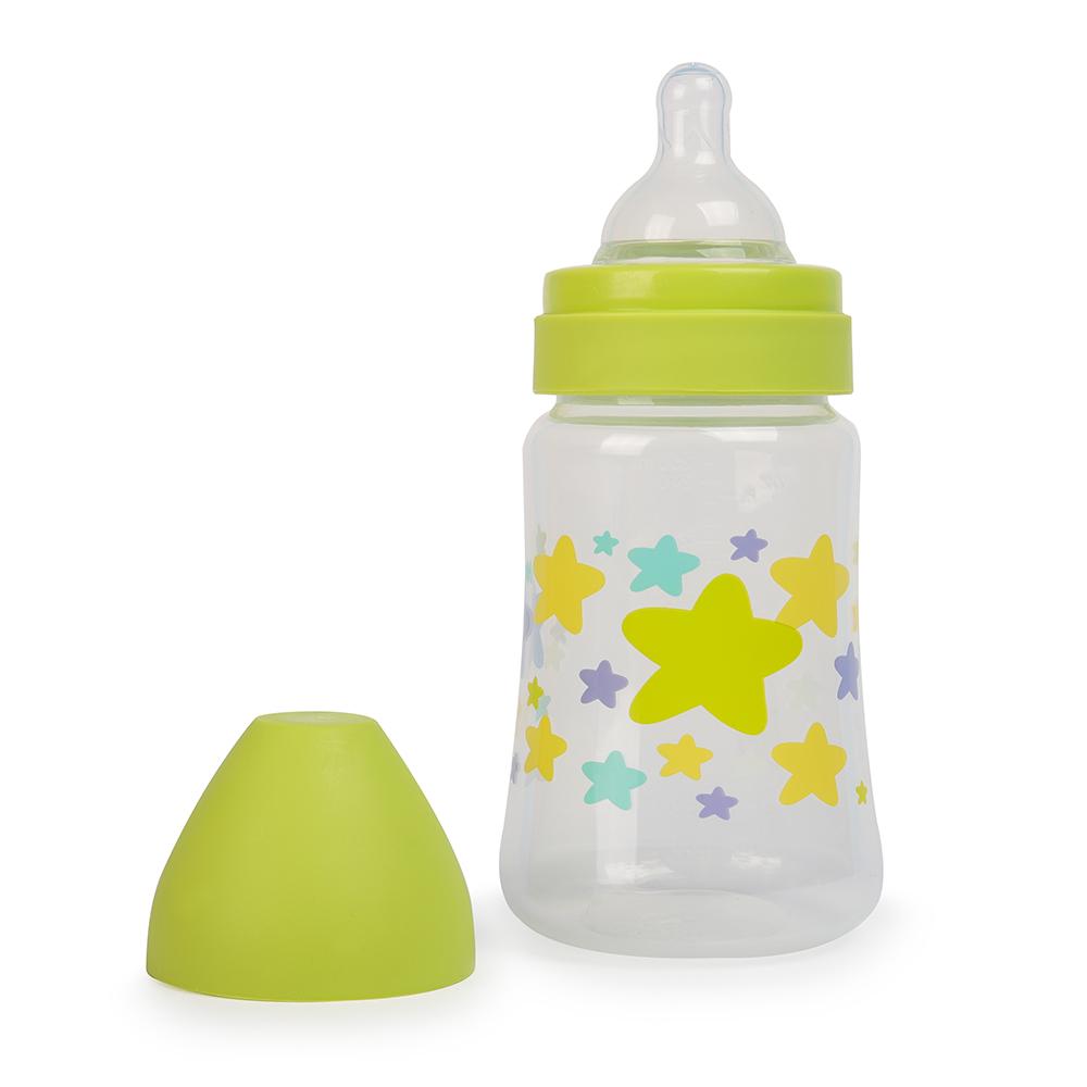 Бутылочка с широким горлом Be2Me Цвет салатовый