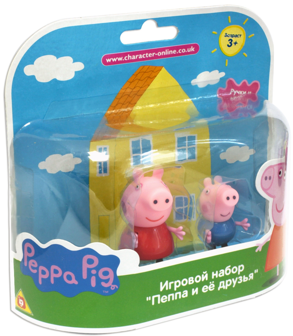 Peppa Pig Peppa Pig Пеппа и Джордж peppa pig find the hat sticker book