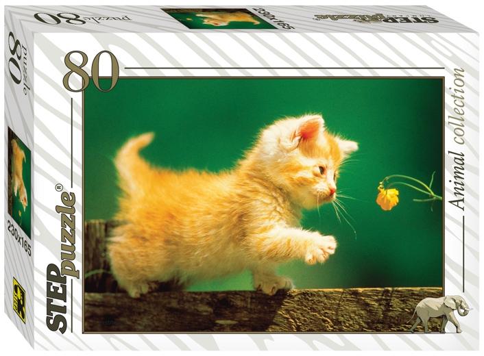Пазлы Step Puzzle Золотая серия-10 (животные) 80 эл в ассортименте пазл step puzzle 120 эл в ассортименте