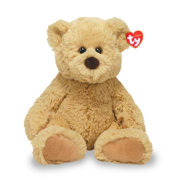 Купить Мягкие игрушки, Медвежонок Boris, TY, Китай, brown