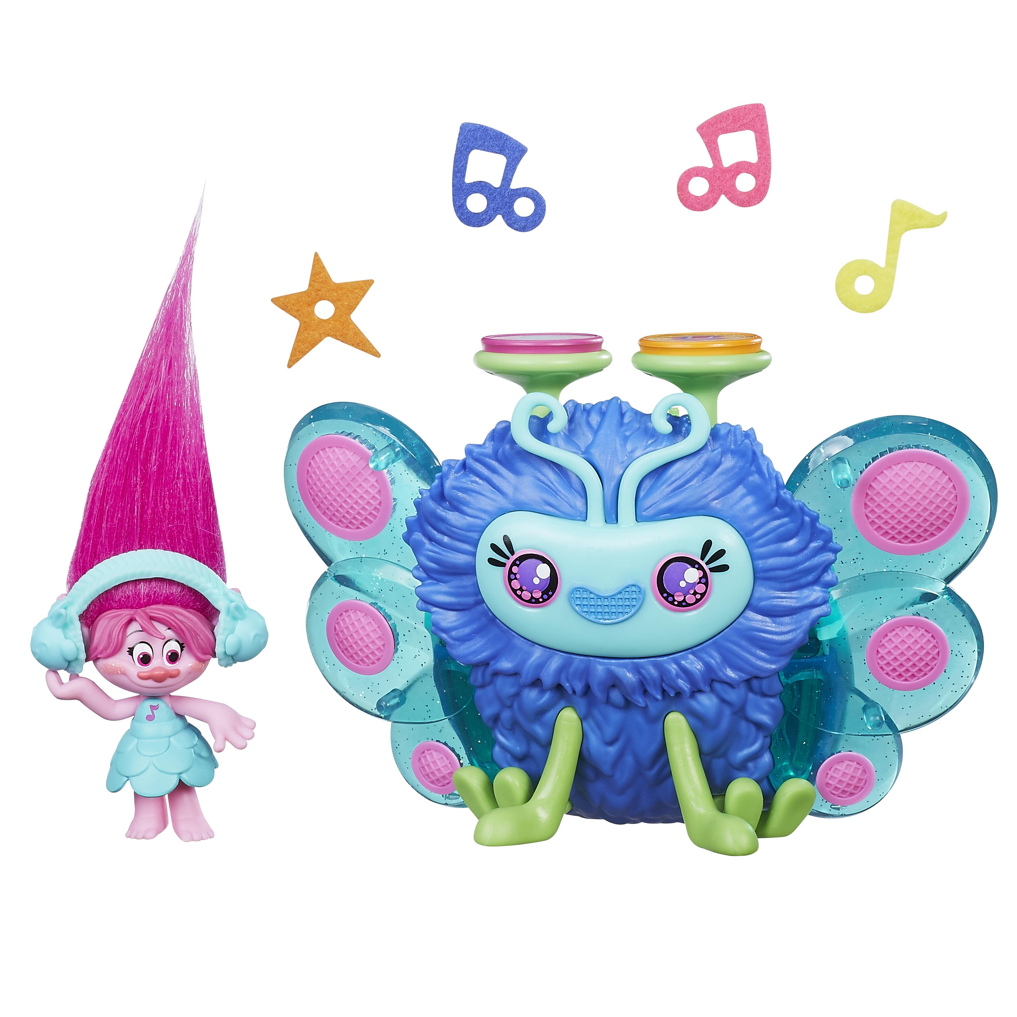 Trolls Город троллей Диджей Баг 6pcs set 8cm trolls movie figure collectible dolls poppy branch biggie pvc trolls action figures toy for kids christmas gifts
