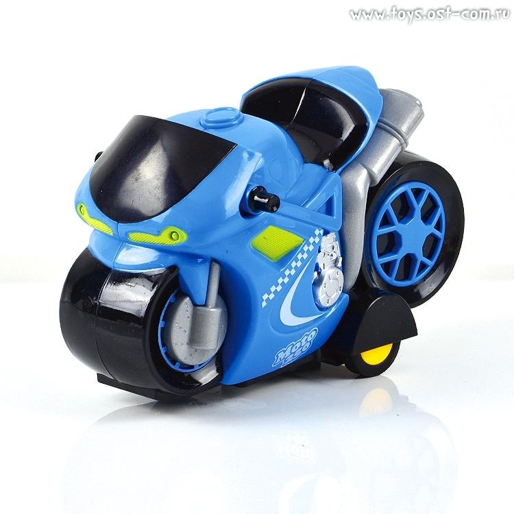 Машинки и мотоциклы Mioshi «Мотокросс» 16 см в ассортименте цены