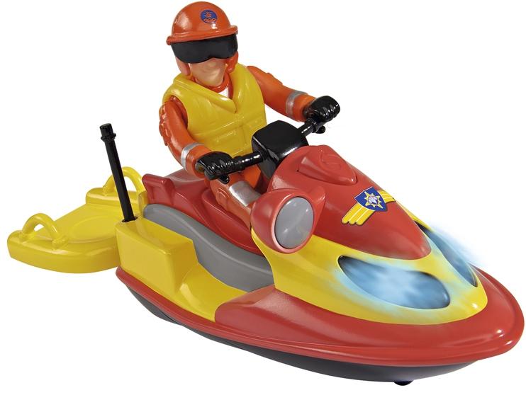 Гидроцикл simba Пожарный Сэм + фигурка