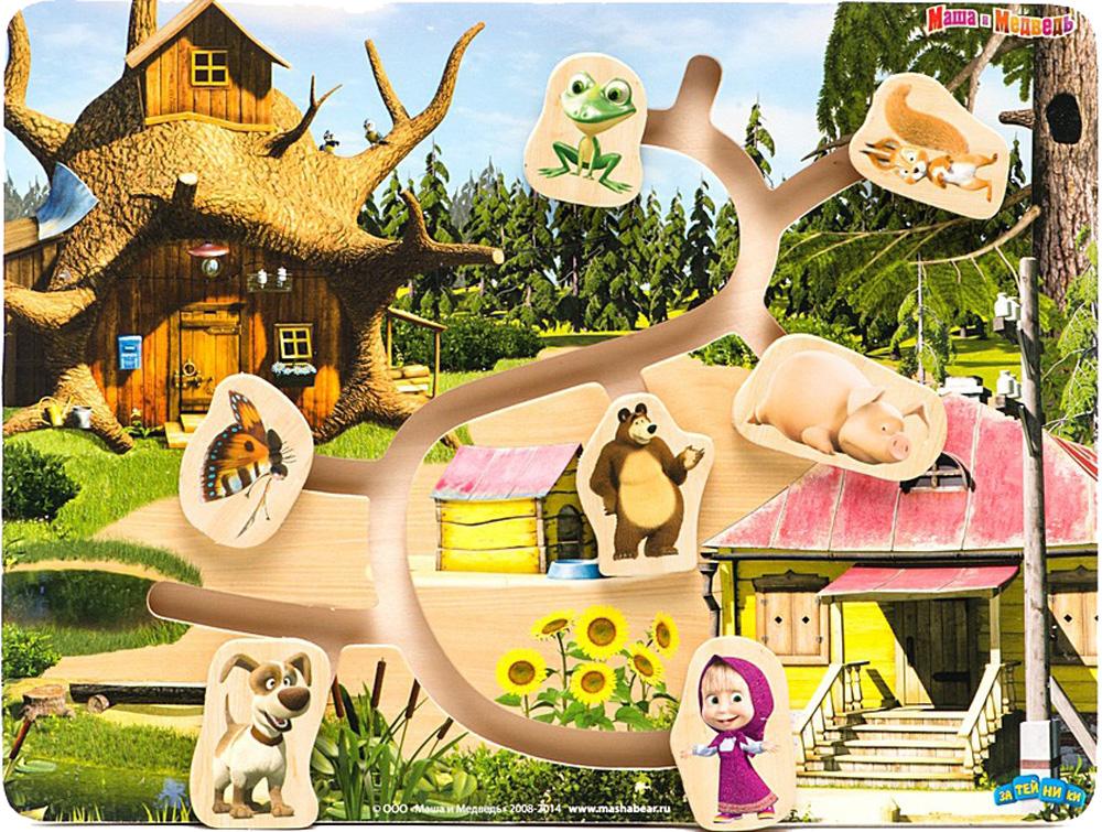 Лабиринт Маша и Медведь Маша и ее друзья