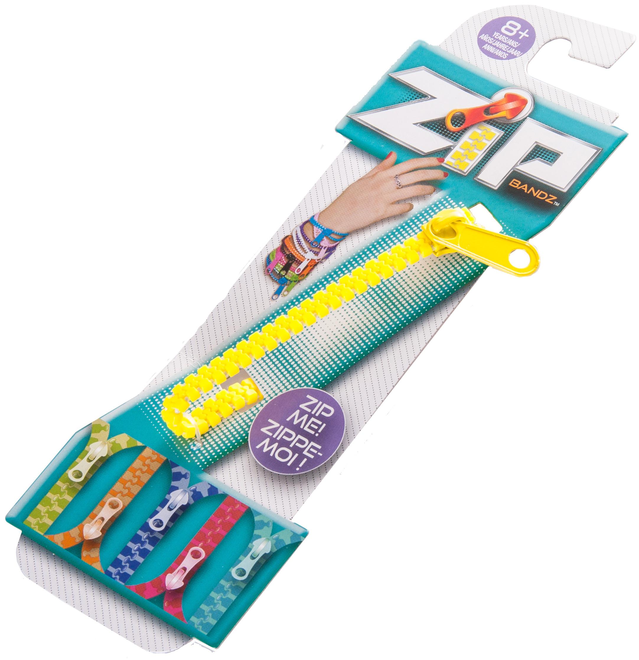 Украшения Zip Bandz Браслет-молния Zip Bandz fuax suede zip up fuzzy waistcoat