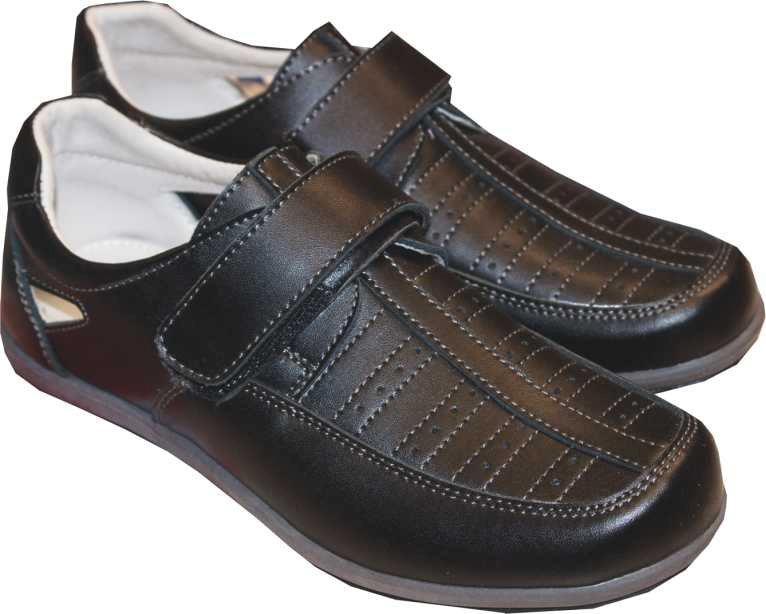 Купить Ботинки и полуботинки, Полуботинки для мальчика Barkito, Китай, black, Мужской