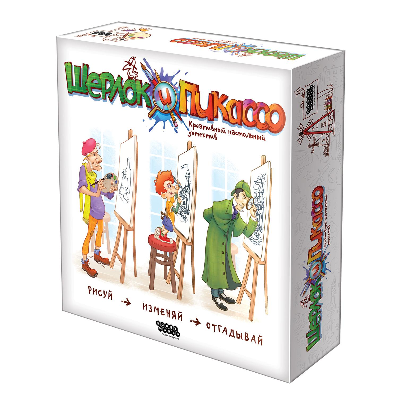 Развлекательные игры Hobby World «Шерлок и Пикассо» - Настольные игры