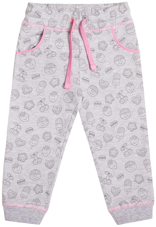 Брюки трикотажные для девочки Barkito Сладкие монстры брюки трикотажные для barkito алоха гавайи 913509 x426 75