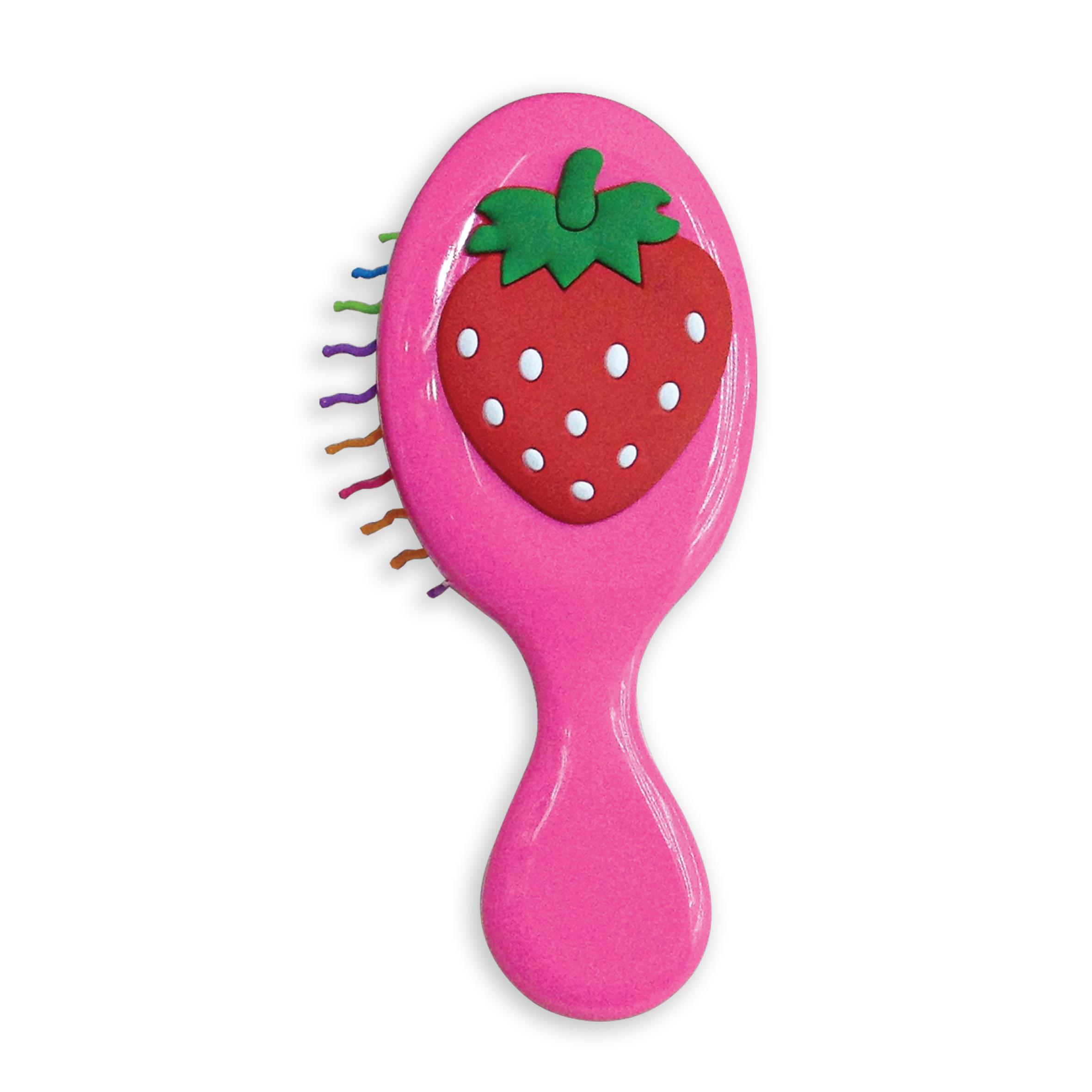 Расческа-щетка Baffy Клубничка курносики набор щетка и расческа для волос цвет салатовый