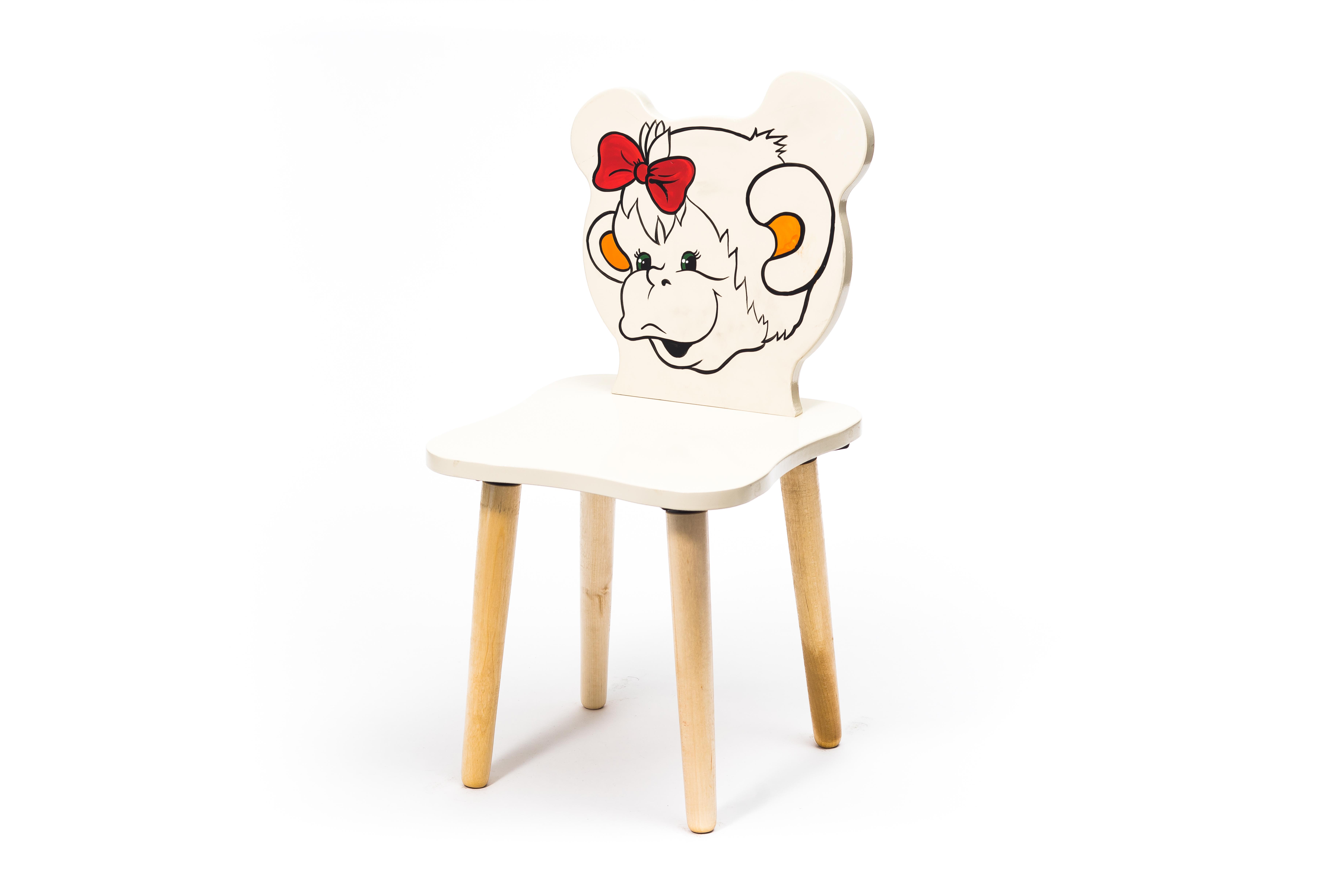 Детские стулья и табуреты Polli Tolli Джери. Обезьянка