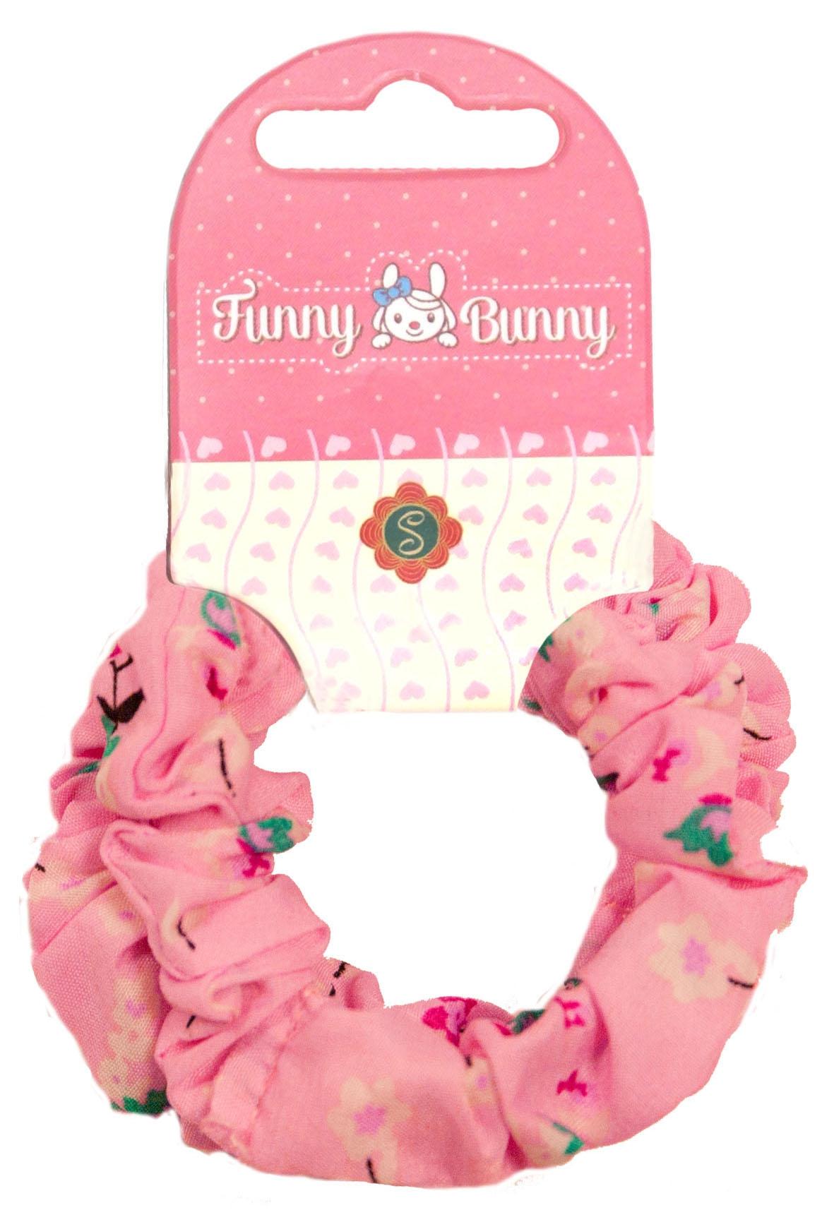 Украшения Funny Bunny Резинка для волоc Funny Bunny «Шу-Шу» 2 шт. в ассортименте невидимка для волос funny bunny розовые цветы 2 шт