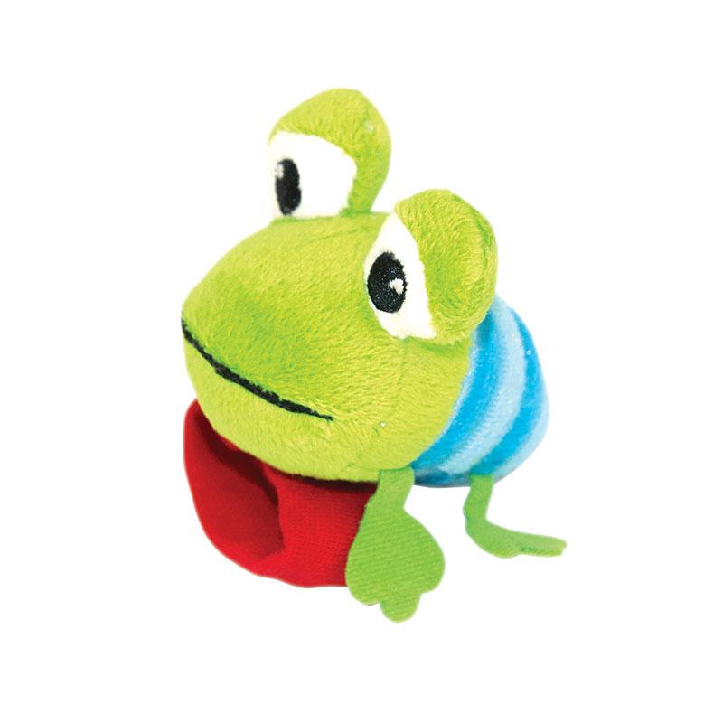 Игрушка-погремушка Happy Snail Лягушонок Квака 14HSB05KV kids ii развивающая игрушка мяч лягушонок oball