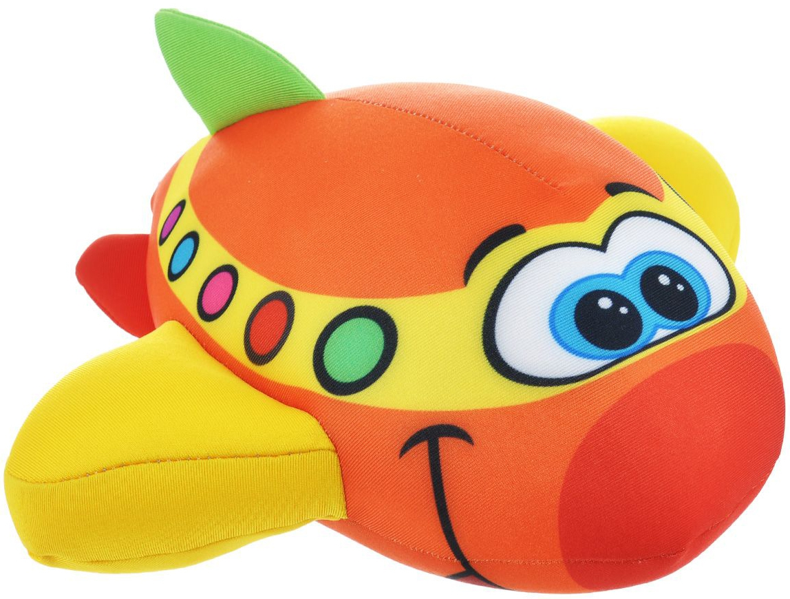 Мягкие игрушки СмолТойс Подушка-антистресс «Самолетик» СмолТойс сывороточный протеин bbb whey classic банан 70% белка и bcaa 1 кг