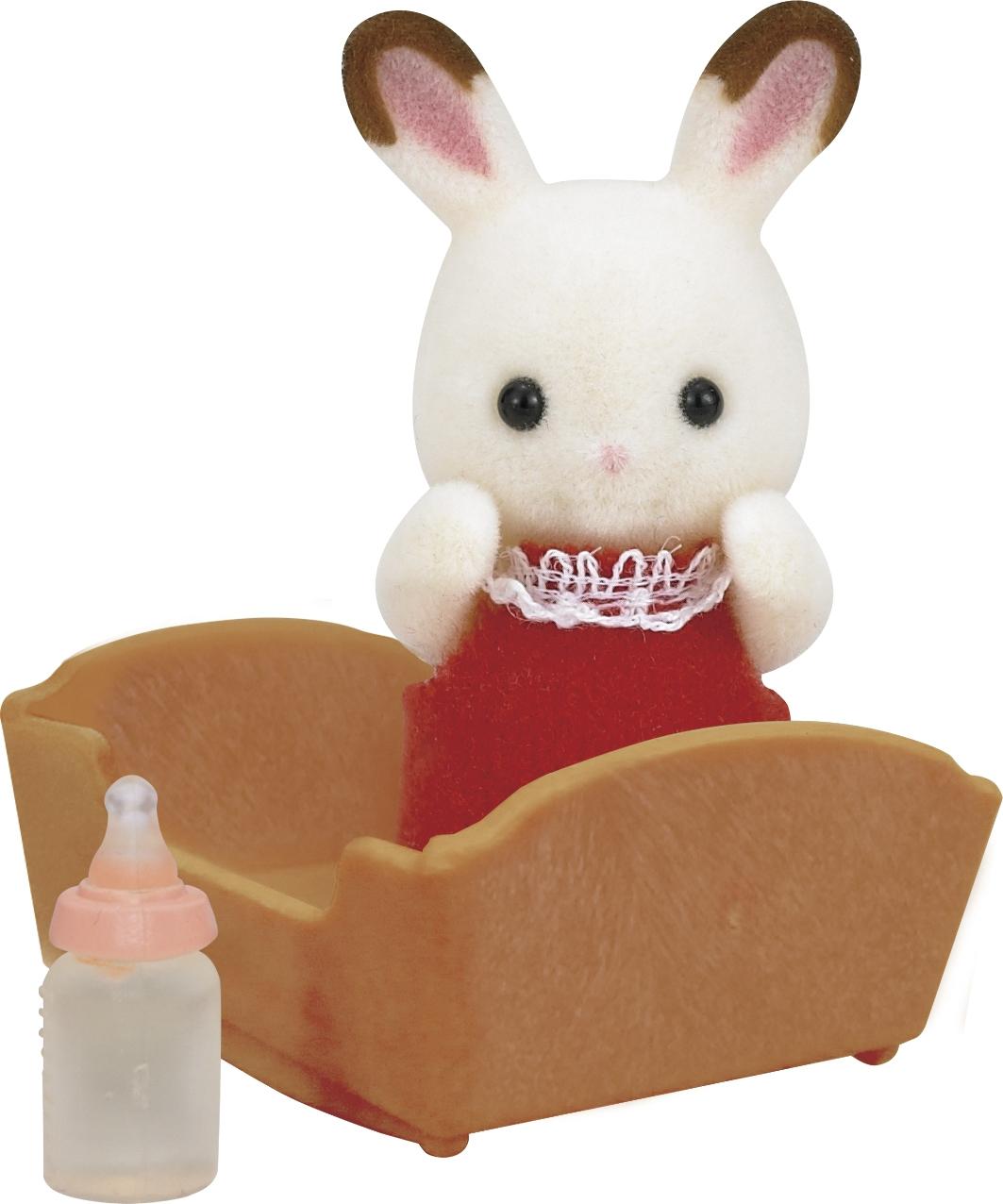 Sylvanian Families SYLVANIAN FAMILIES Малыш кролик sylvanian families набор мама кролик и холодильник