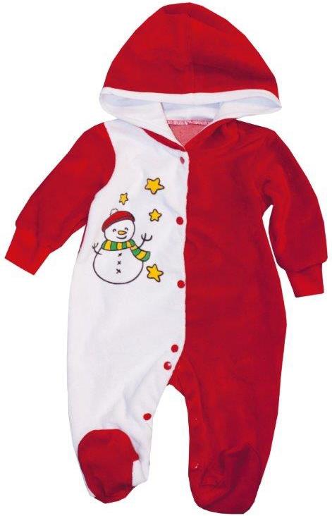 Первые вещи новорожденного Barkito Комбинезон с капюшоном Новый год Barkito шапочка детская новый год barkito