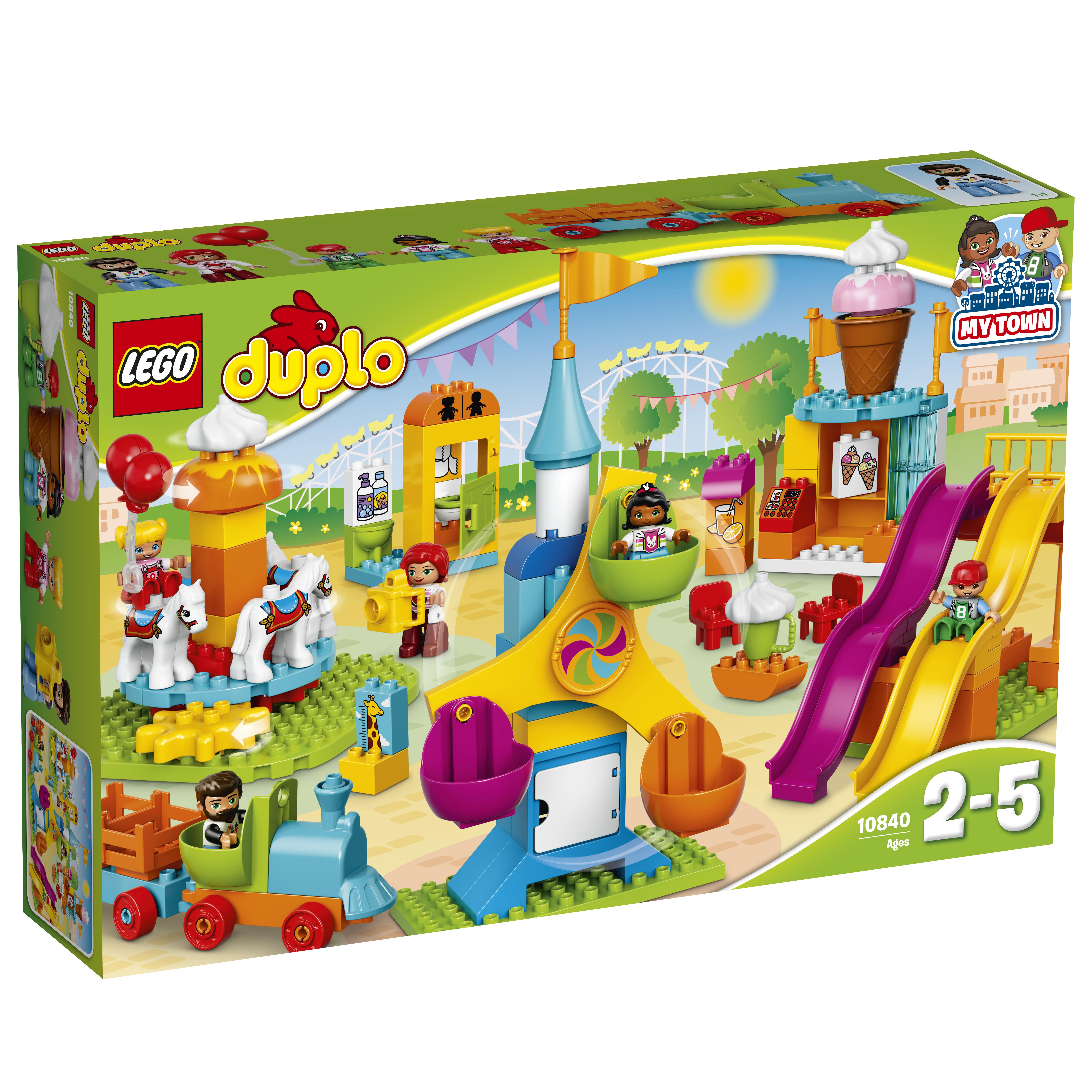 LEGO DUPLO LEGO Большой парк аттракционов