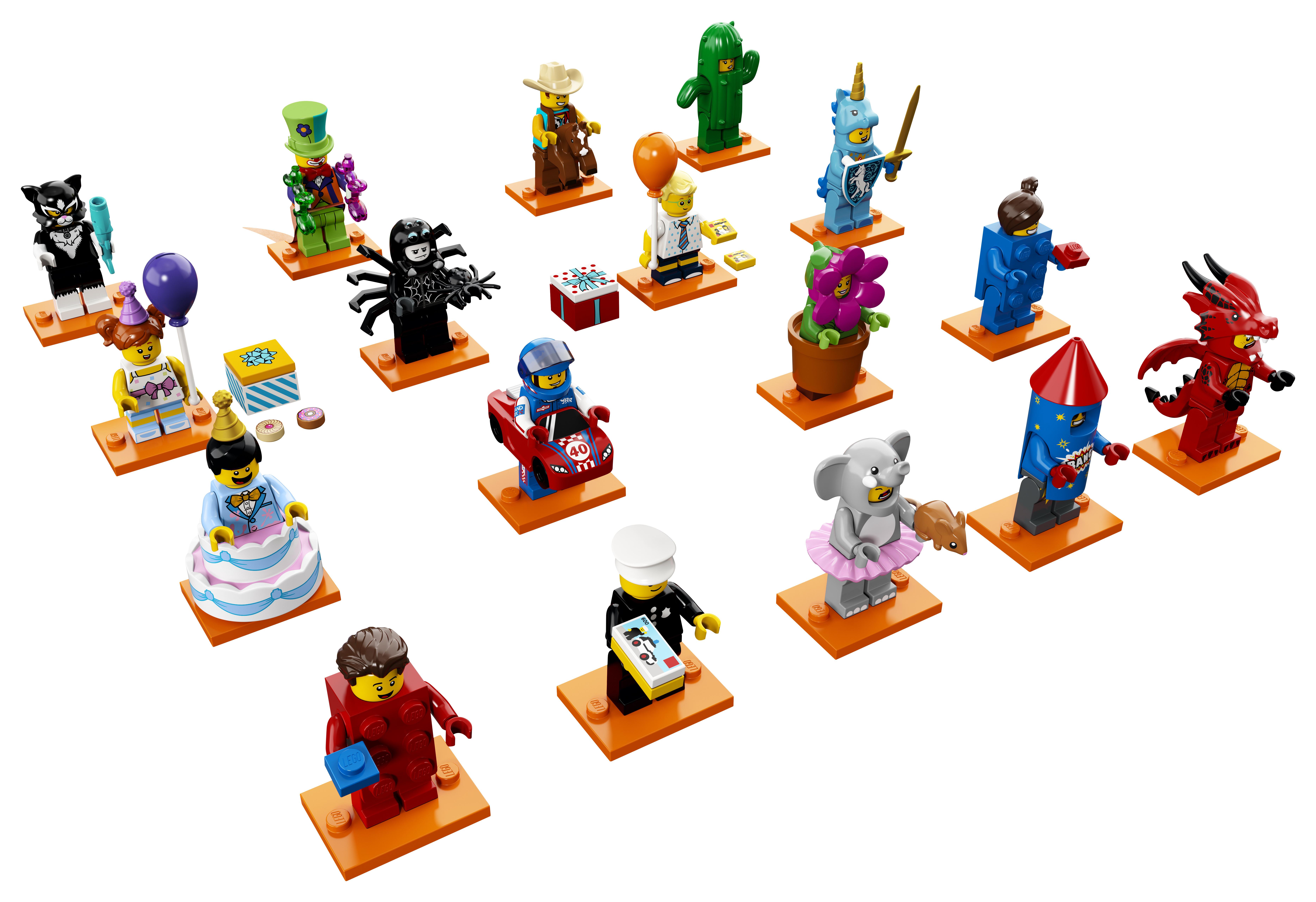 Конструктор LEGO BrickHeadz 71021 серия 18 цена