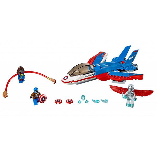 LEGO LEGO Super Heroes 76076 Воздушная погоня Капитана Америка hugo boss boss orange charity
