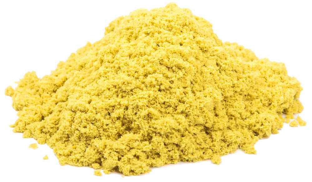 Космический песок Космический песок Желтый 1 кг с песочницей и формочками живой песок