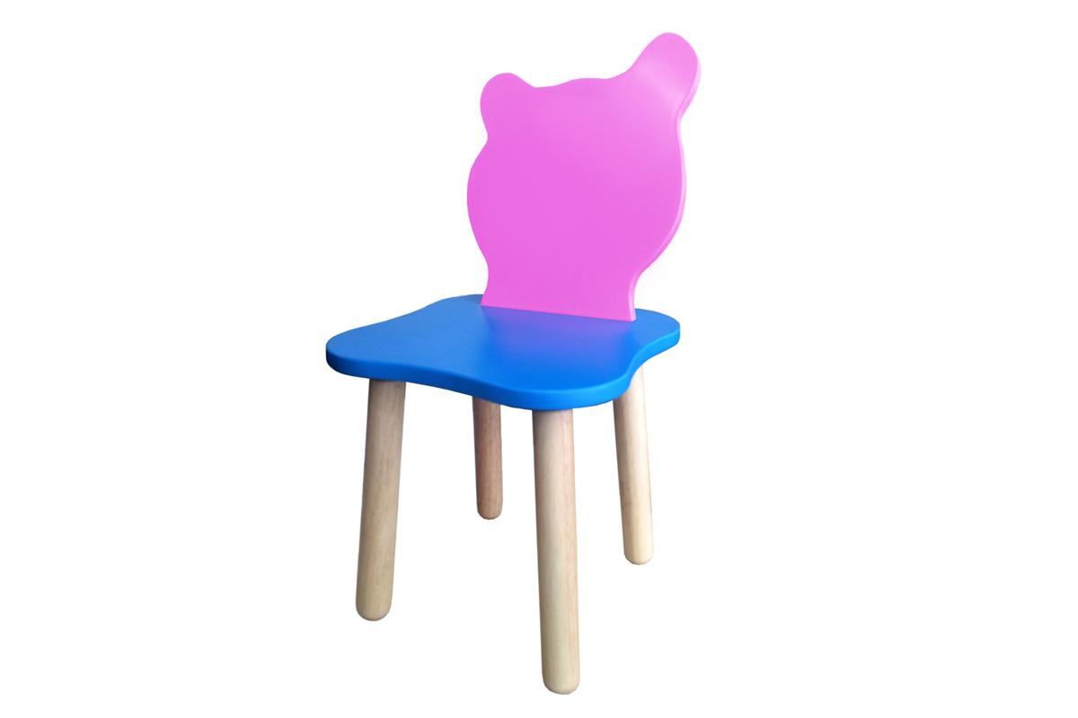 Столы и стулья Polli Tolli Стул Polli Tolli «Джери Розовый» голубой/розовый