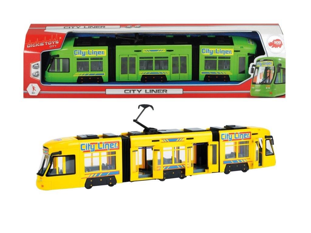 Трамвай DICKIE городской 46 см 3749005 михалков с в шел трамвай десятый номер
