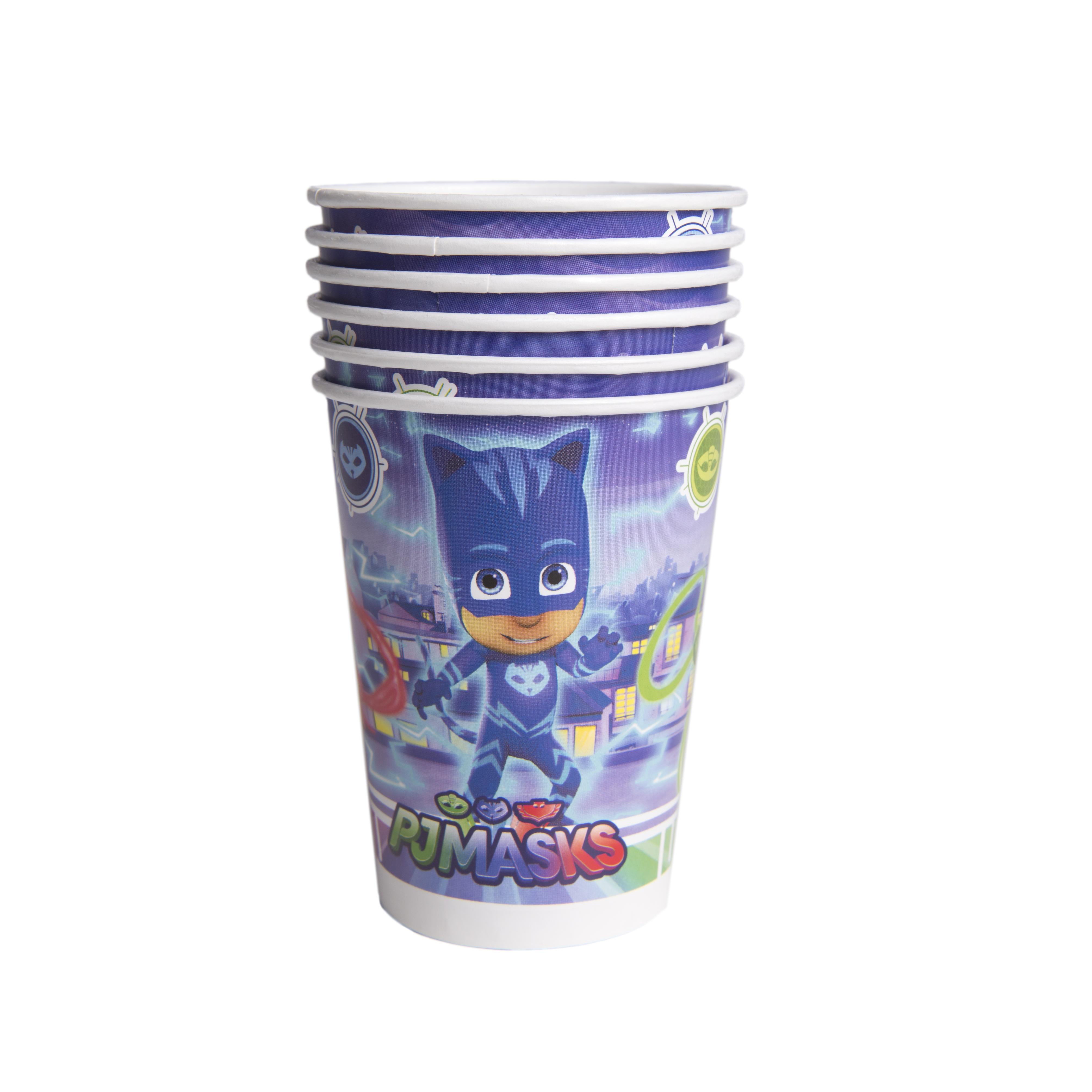 Набор стаканов PJ Masks Герои в масках pj masks набор толстых восковых карандашей герои в масках 8 цветов 34062
