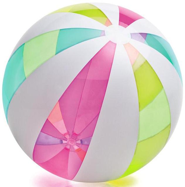 Мяч надувной INTEX Гигант цена