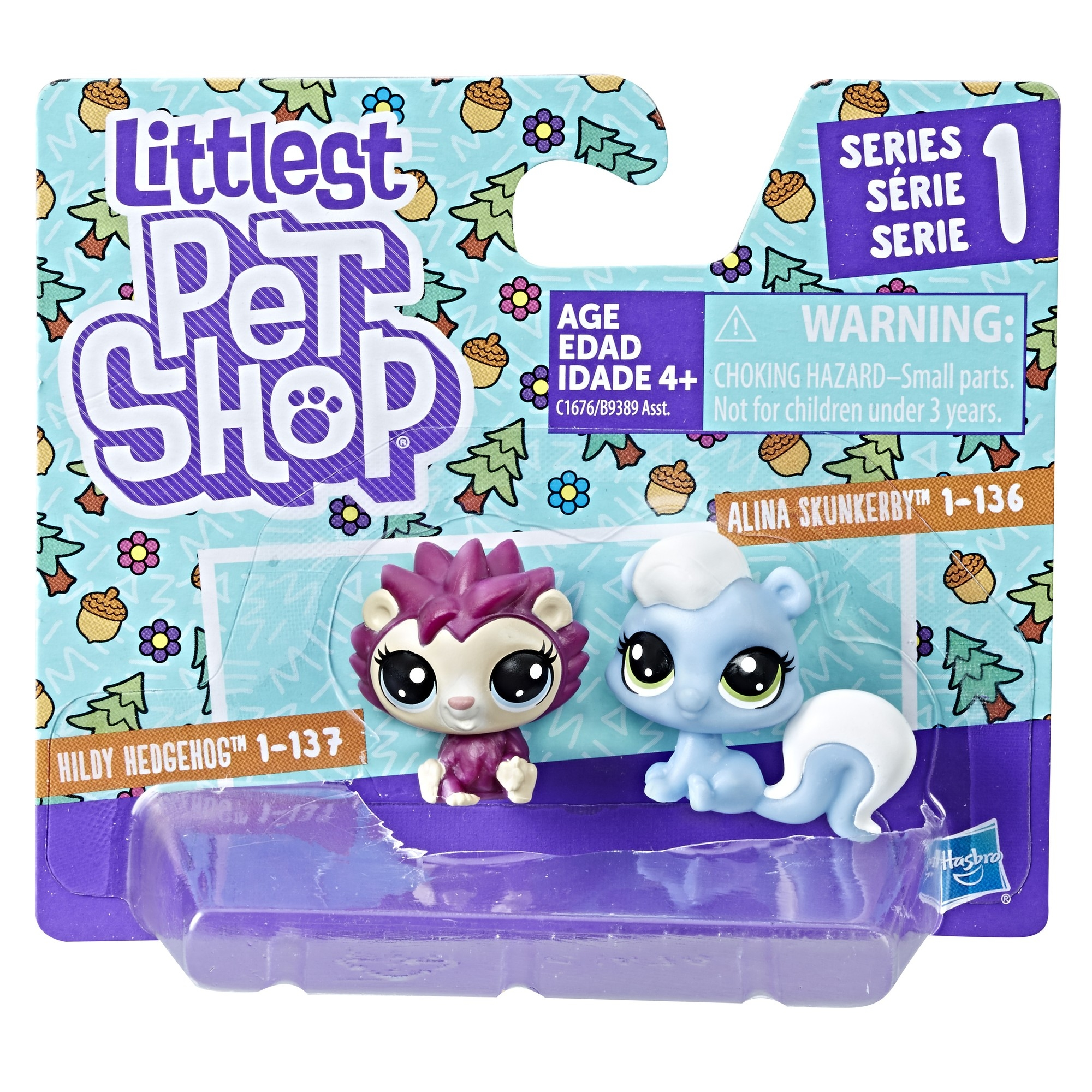 Littlest Pet Shop LITTLEST PET SHOP Фигурка Littlest Pet Shop «Два пета» в асс. adjustable pet dog traction rope