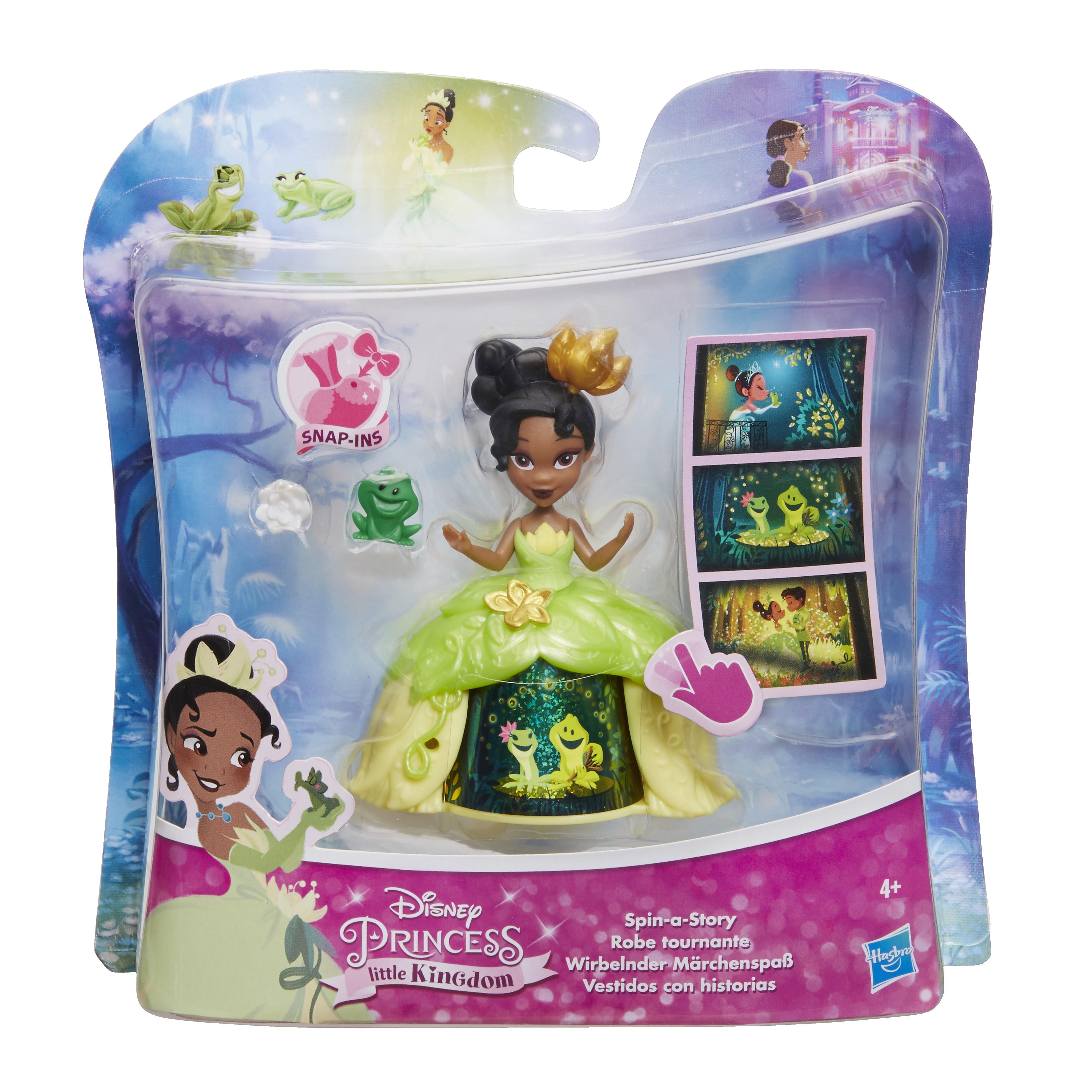 Кукла Hasbro Маленькая кукла принцесса в платье с волшебной юбкой