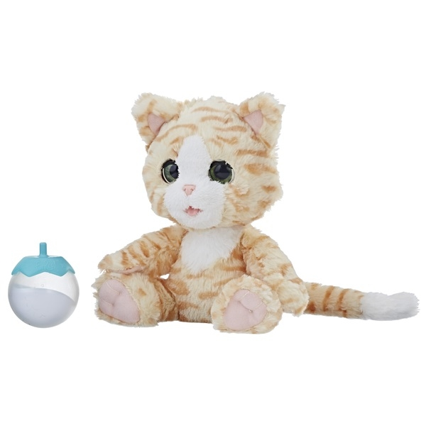 Интерактивные животные Furreal Friends Покорми Котёнка интерактивные игрушки furreal friends милый дракоша