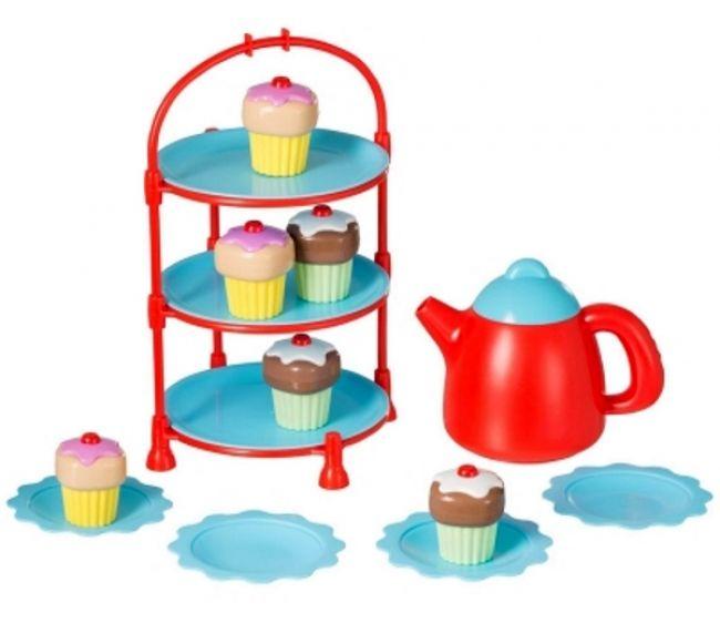 цена Игровые наборы Профессия HTI Набор для чая HTI Smart с кексами