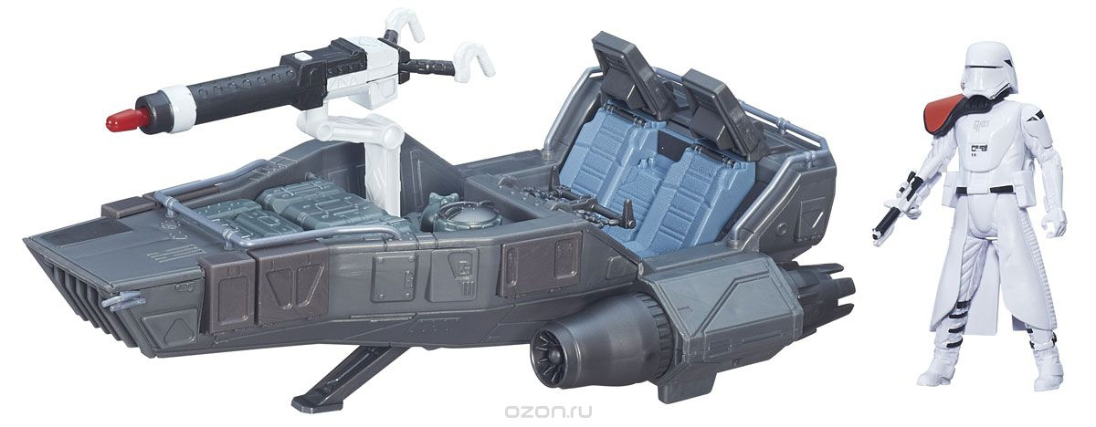 все цены на Космический корабль Hasbro Космический корабль Звездных войн 9,5 см Класс II онлайн