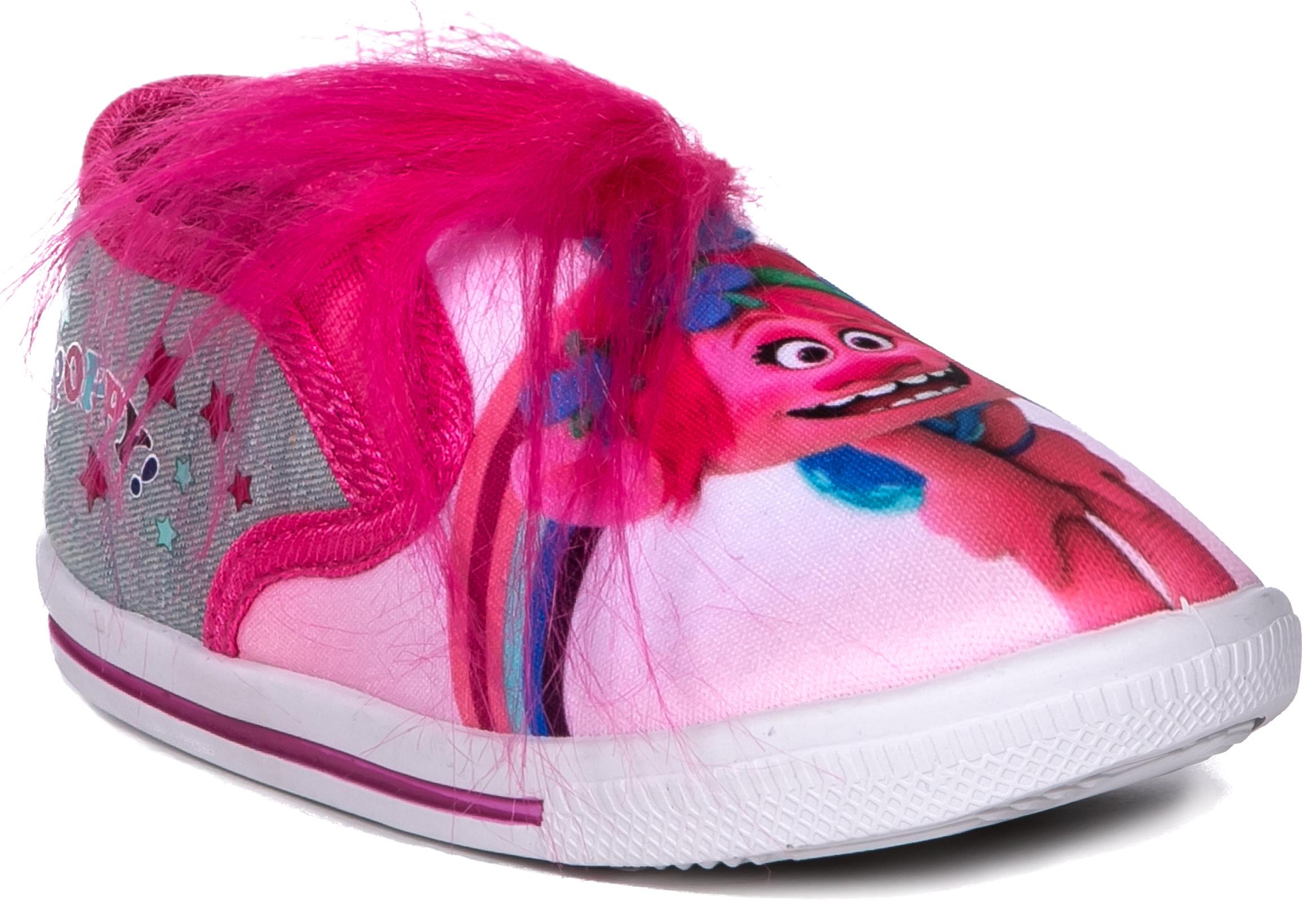 Ботинки и полуботинки Barkito Полуботинки типа кроссовых для девочки TROLLS, фуксия цены онлайн