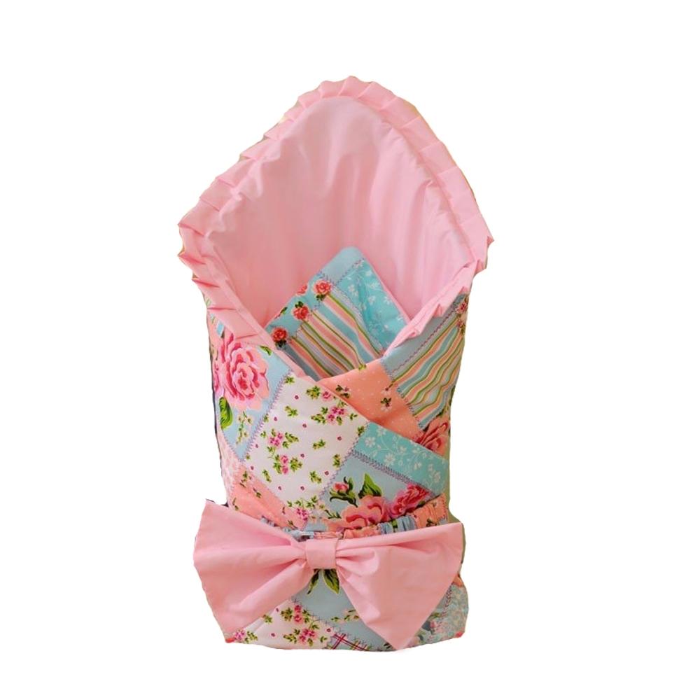 Комплекты на выписку Арго Одеяло на выписку для девочки Арго «Бант», розовое цена