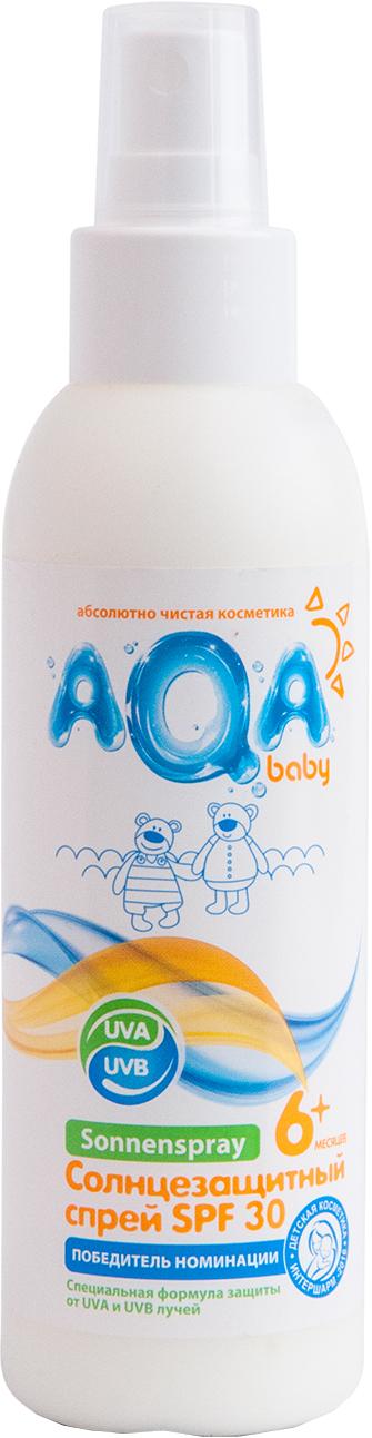 Спрей солнцезащитный AQA baby AQA baby SPF 30 спрей солнцезащитный aqa baby aqa baby spf 30