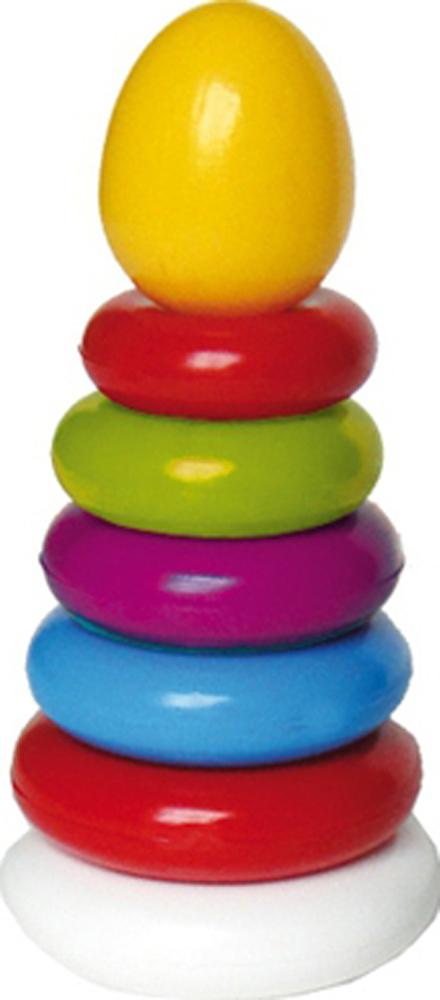 Купить Развивающие игрушки, Пирамидка, Спектр, Россия, желтый, голубой, салатовый, красный, оранжевый, розовый, белый