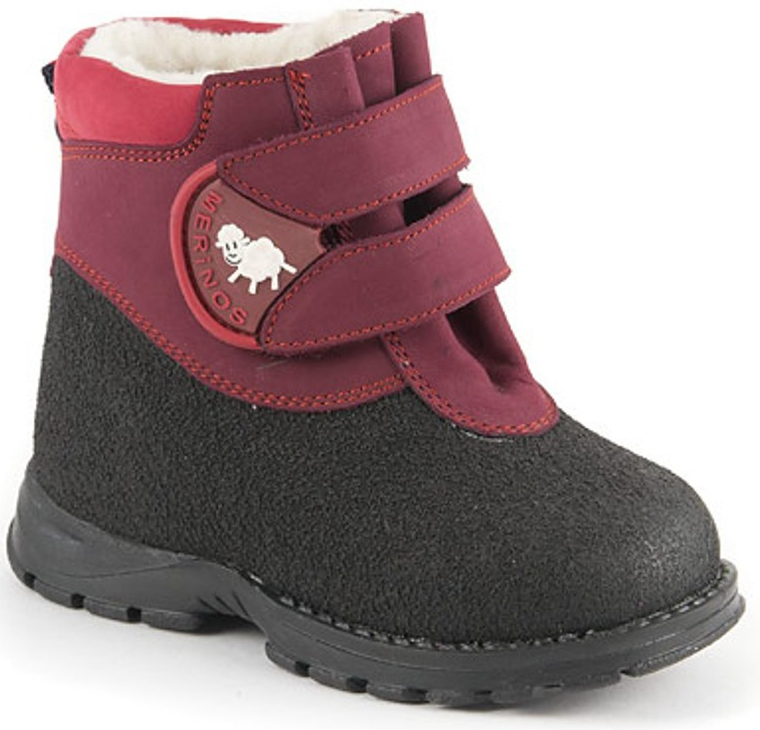 Ботинки и полуботинки Детский Скороход Ботинки для девочки Детский Скороход, бордовые
