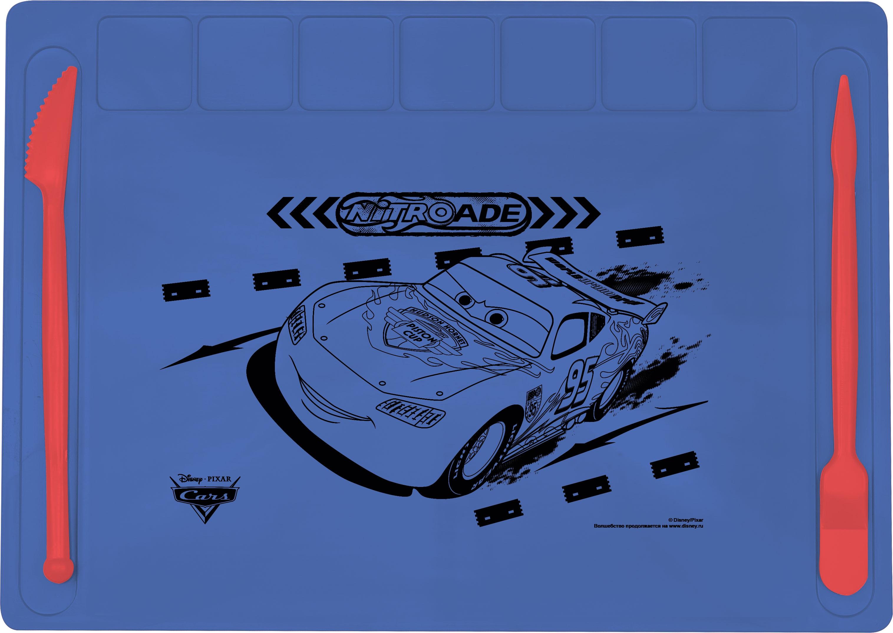 Канцелярия Cars Доска для лепки Disney Cars синяя wertmark we405 01 141