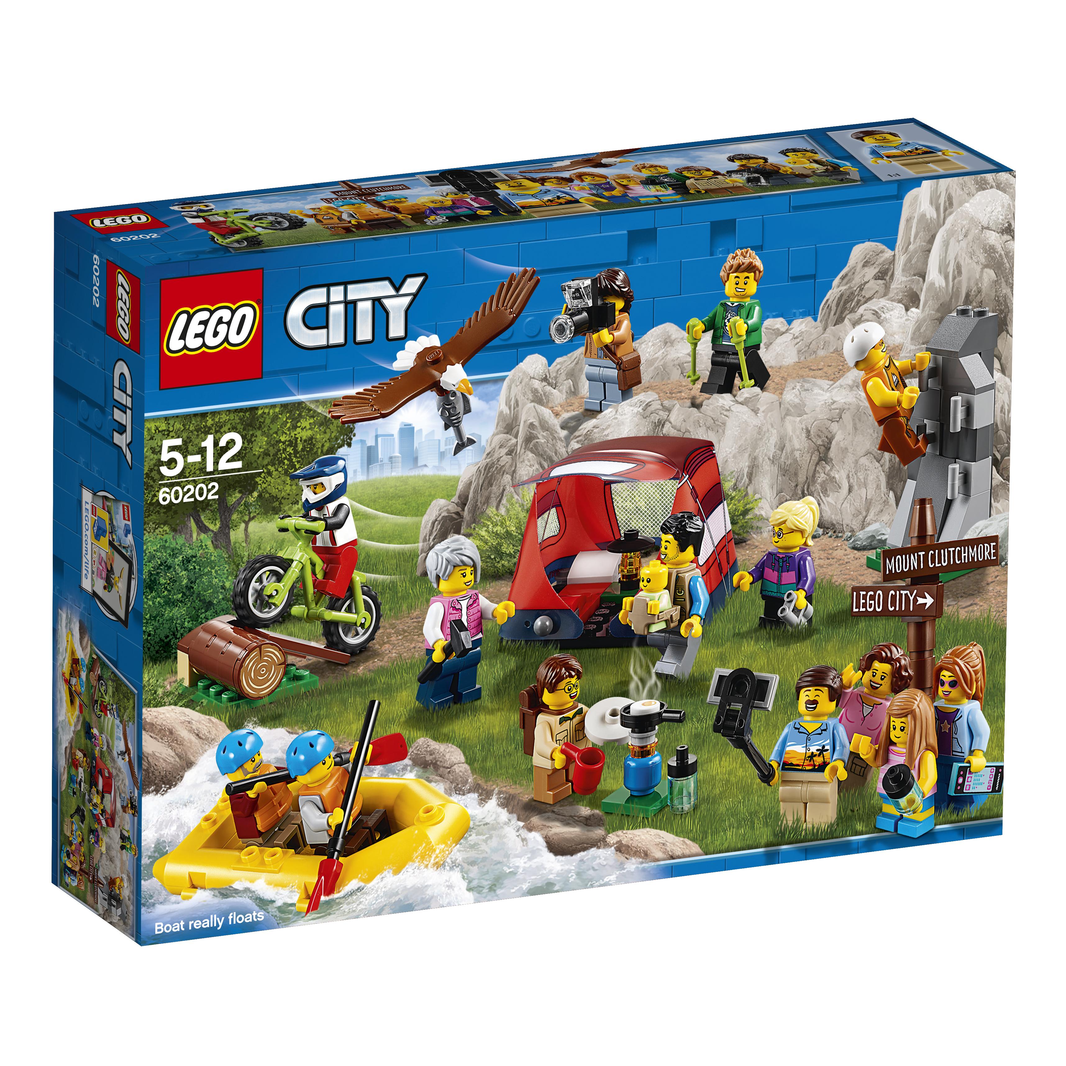 LEGO LEGO Конструктор LEGO City Town 60202 Любители активного отдыха конструктор lego city jungle explorer 60157 набор джунгли для начинающих