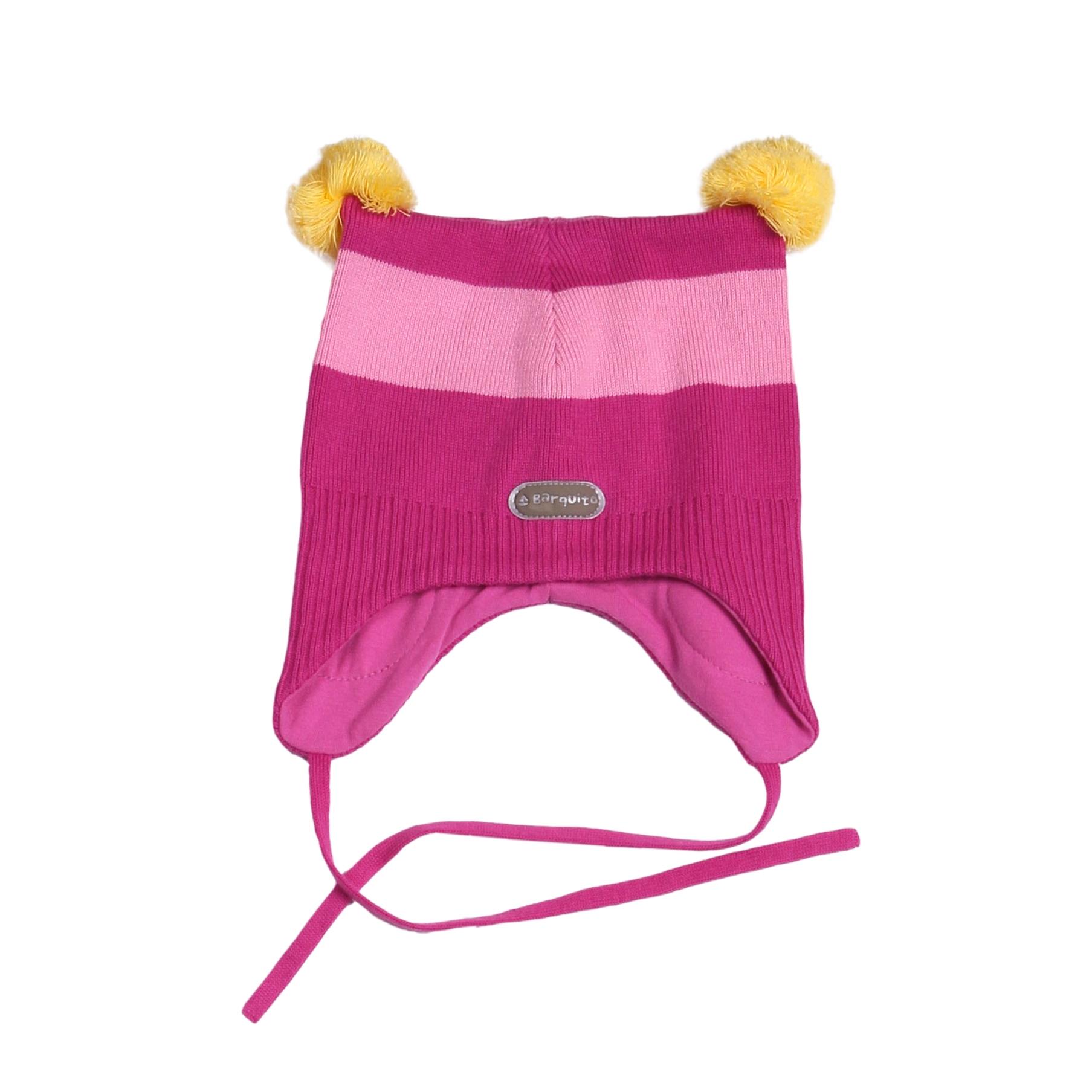 Головные уборы BARQUITO Шапка для девочки Barquito в полоску головные уборы