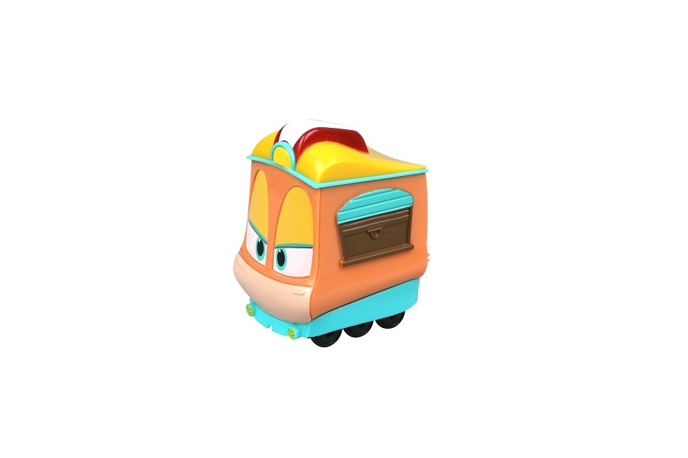 Фигурки героев мультфильмов Robot Trains Джейни 80161 железные дороги robot trains паровозик кей
