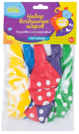Набор воздушных шаров Bebelot Holiday горох набор для творчества bondibon фигуры из воздушных шаров разноцветный